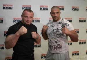 Mariusz Pudzianowski i James Thompson