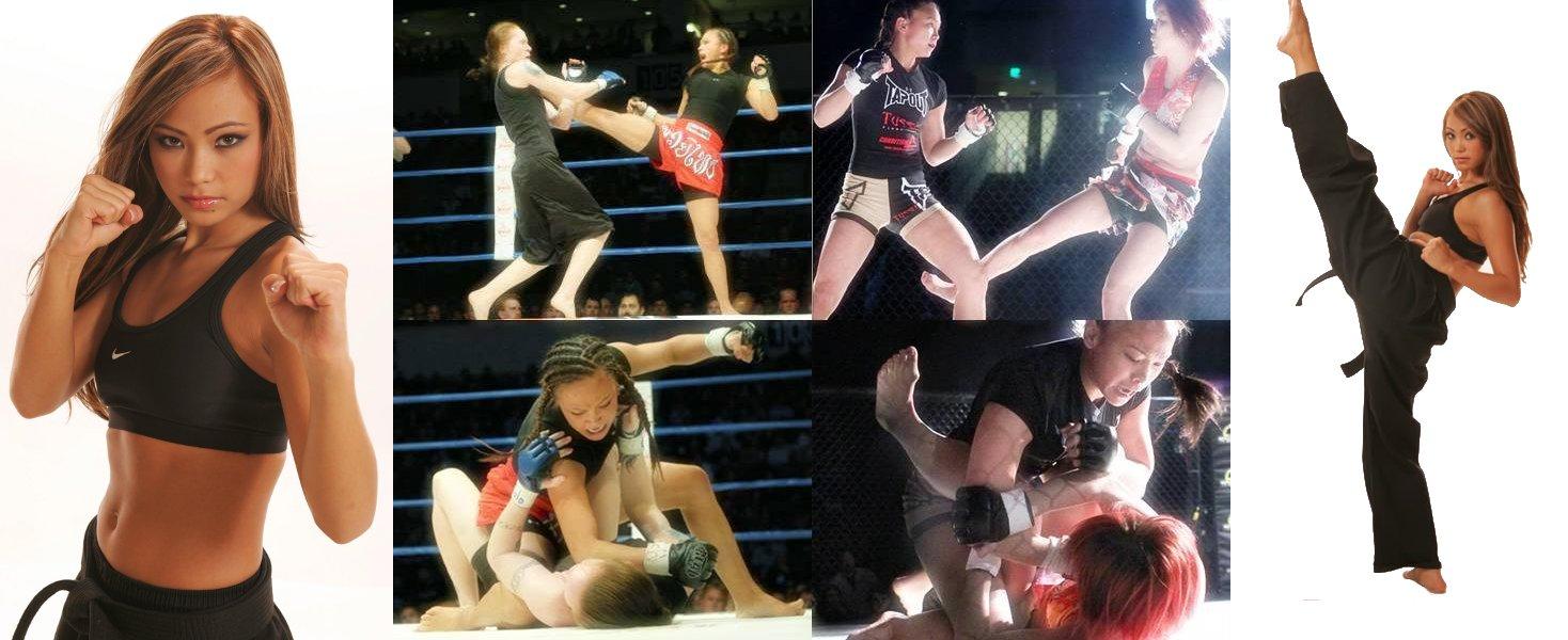 """Michelle """"The Karate Hottie"""" Waterson"""