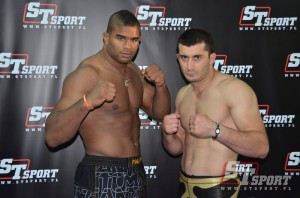 Alistair Overeem i Mamed Chalidow