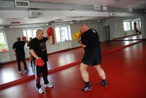 Kamil Bazelak na treningu z Andrzejem Gmitrukiem