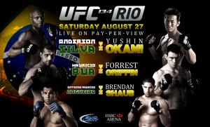 UFC 134: Rio