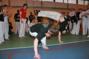 Treningi Capoeira u monitora Mexicano