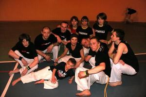 Grupa Capoeira monitora Mexicano