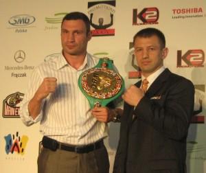 Tomasz Adamek i Witalij Kliczko