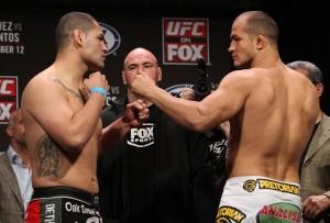 Cain Velasquez vs. Junior dos Santos UFC on Fox weigh in