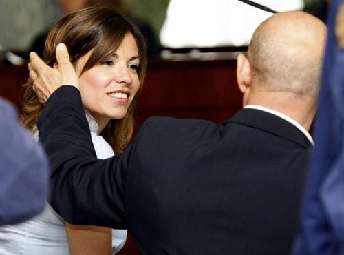 Fernando Torres Baena i jego żona