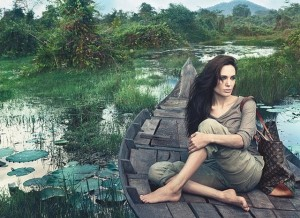 Angelina Jolie- Louis Vuitton