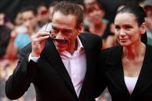 Jean Claude Van Damme i jego żona Gladys Portugues