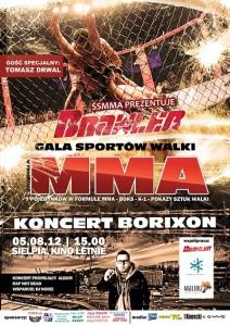 Gala MMA 05.08.2012 Sielpia (Świętokrzyskie)