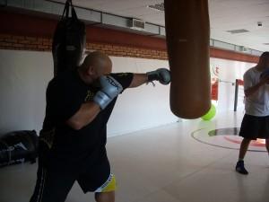 Kamil Bazelak trenuje na wroku w klubie Action