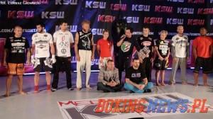 Zdjęcie z treningu medialnego przed KSW 21 (foto:boxingnewspl)