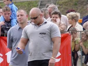 Kamil Bazelak sędzią na Mistrzostwach Polski Strongman w Parzęczewie