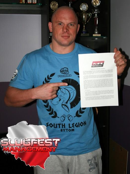 Mariusz Radziszewski podpisał umowę z M-1