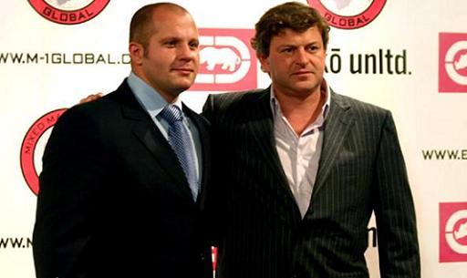 Fedor Emelianenko i Vadim Finkelstein