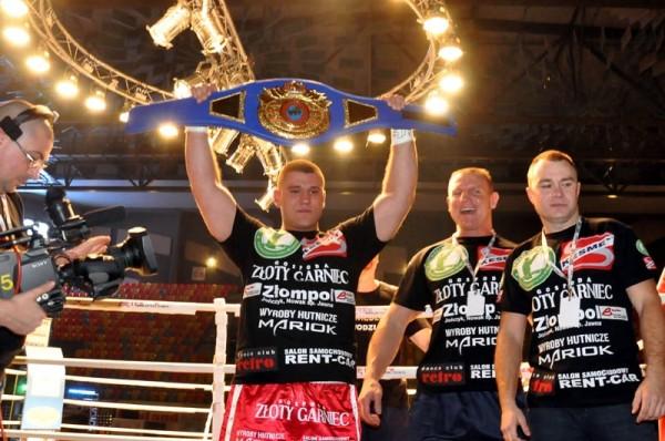 Marcin Siwy mistrzem świata WBF
