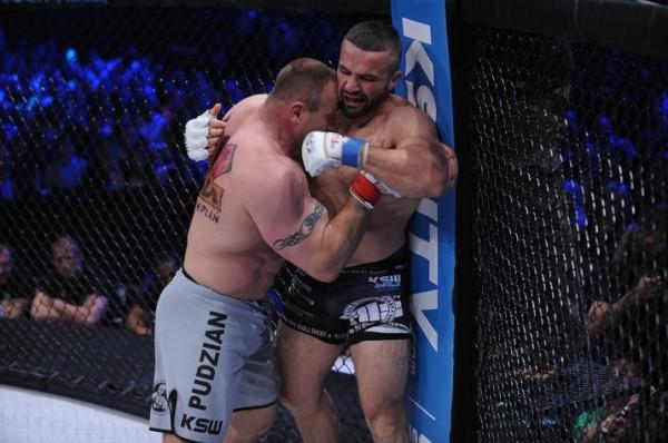 Pudzianowski vs Oli Thompson