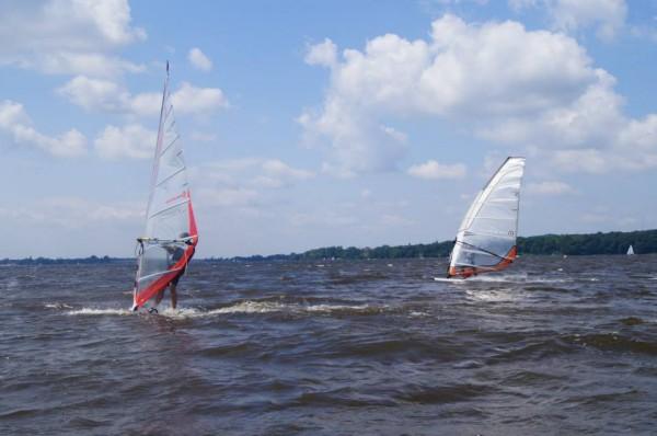 windsurfing Zalew Zegrzyński