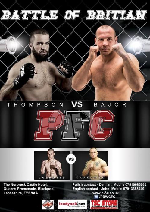 Leszek Krakowski vs Antanas Jazbuti na gali  Pitbull Fighting Championship (2)