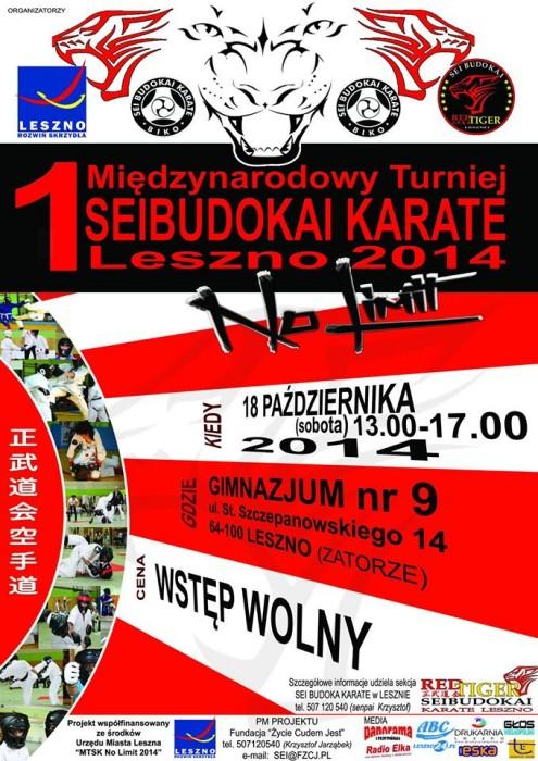 1 Międzynarodowy Turniej Karate Seibudokai