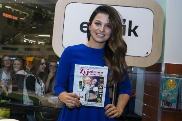 Anna Lewandowska promuje swoją książkę