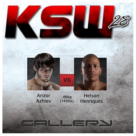 Anzor Azhiev wygrywa decyzją z Henriquesem