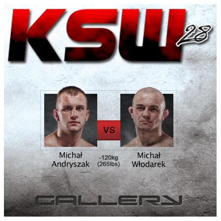 Michał Włodarek pokonał Michała Andryszaka w 27 sekund