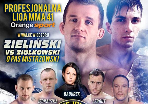 PLMMA 41 Extra Ziółkowski vs Zieliński