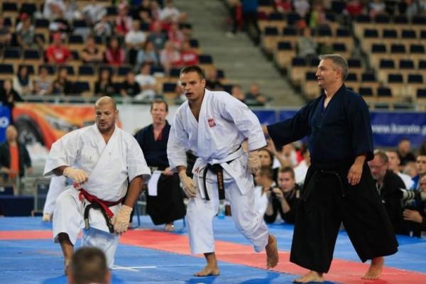 mistrzowie świata w karate z Aleksandrowa