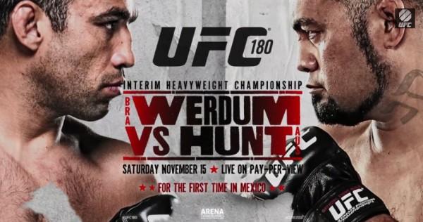 UFC 180 Werdum vs. Hunt