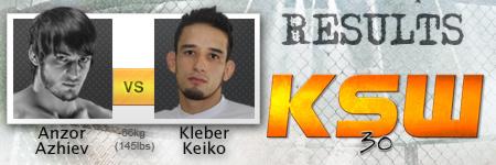 Kleber Koike Erbst odklepał Azhieva