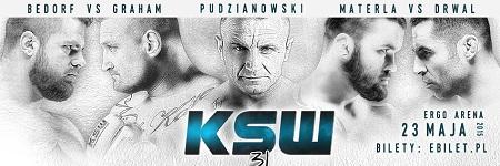 Michał Materla vs Tomasz Drwal na KSW 31 w Trójmieście