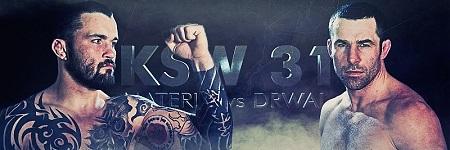 Oficjalny trailer gali KSW 31 Materla vs Drwal