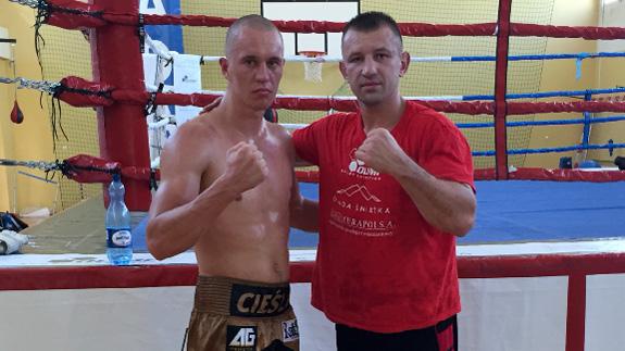 Tomasz Adamek  i Michał Cieślak