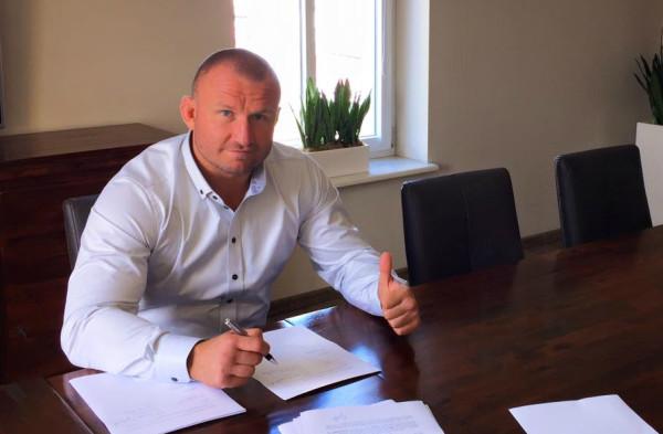 Damian Grabowski podpisał kontrakt z UFC