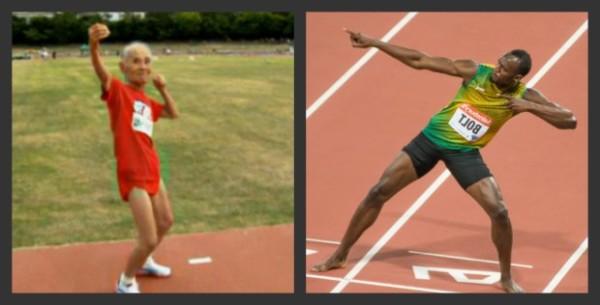 Hidekichi Miyazaki Usain Bolt