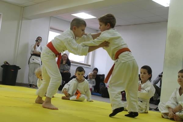 I Turniej Furo Karate w Andrespolu. Na zdjęciu Wiktor Klein i Adam Kominiak (2)