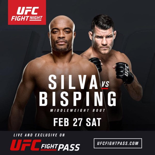 Anderson Silva vs Bisping