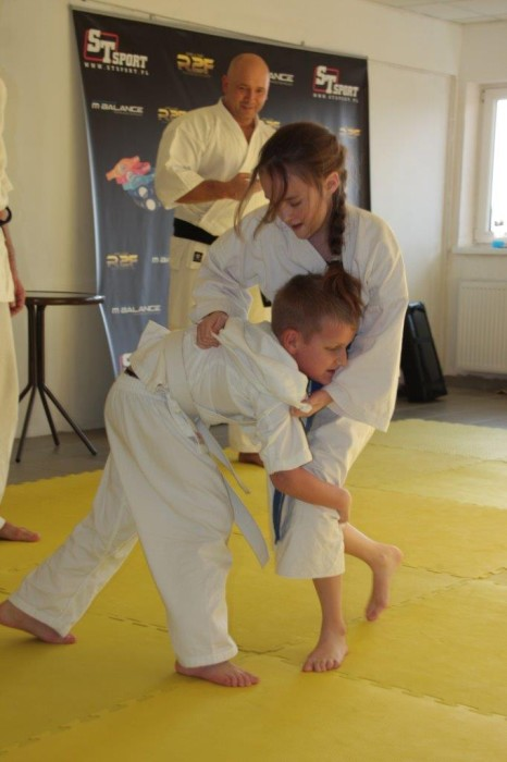Bartosz Chodak vs Ewa Rzeźnik Furo Karate