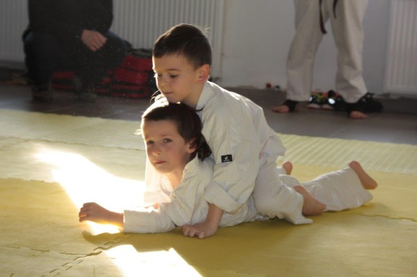 Dorian Błaszków vs Kajetan Bińczak Furop Karate