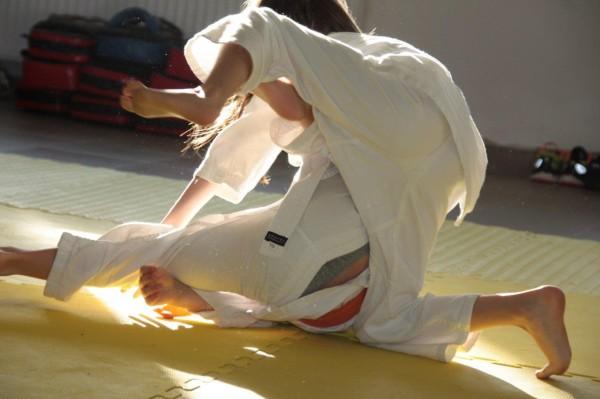 Janek Biały vs Zuzanna Wałoszek Furo Karate (3)