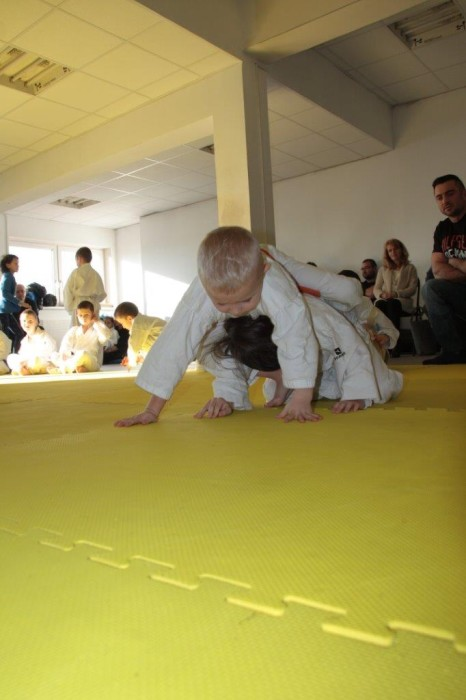 Janek Biały vs Zuzanna Wałoszek Furo Karate