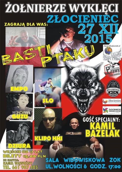 Kamil Bazelak gościem specjalnym na koncercie patriotycznym w Złocieńcu