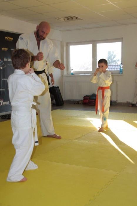 Sensei Robert Musierowicz Maciej Szymborski vs Jakub Lisowski Furo Karate