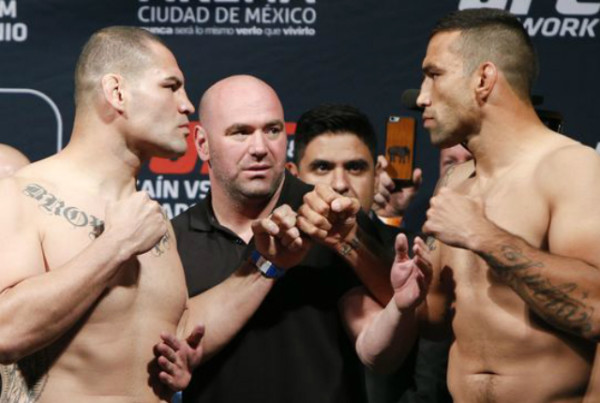UFC196 Fabricio Werdum vs Cain Velasquez