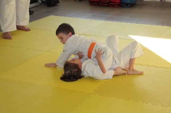 Zuzanna Wałoszek vs Dorian Błaszków Furo Karate