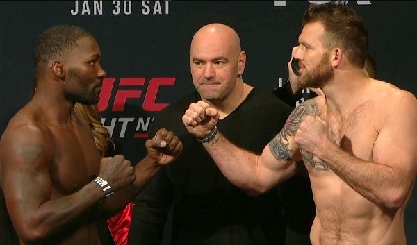 Anthony Johnson  vs. Ryan Bader