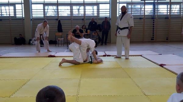 Ogólnopolski Turniej Furo Karate w Wiśniowej Górze Natalia Jasińska Arnold Jagiełło (2)