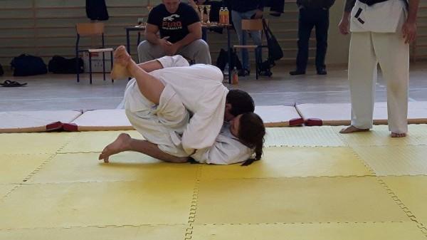 Ogólnopolski Turniej Furo Karate w Wiśniowej Górze Natalia Jasińska Arnold Jagiełło (3)