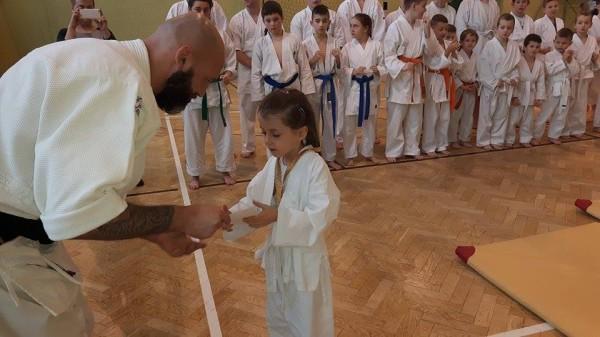 Ogólnopolski Turniej Furo Karate w Wiśniowej Górze Robert Musierowicz Zuzanna Wałoszek