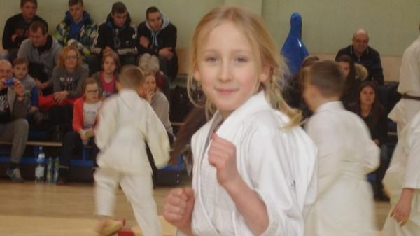 Ogólnopolski Turniej Furo Karate w Wiśniowej Górze Roksana Kłujsza
